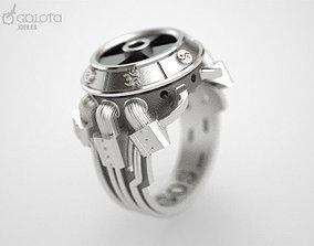 3D print model Stalker ring
