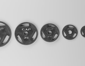 3D Cap Weight Plates