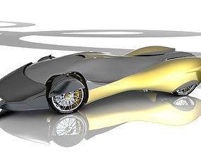 Mantra Car 3D animated