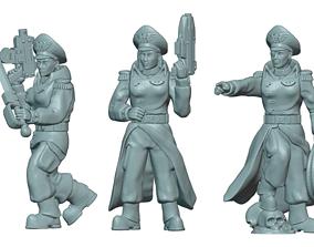 3D printable model Commissar Builder Kit