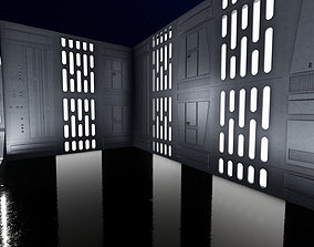 DEATH STAR DIORAMA FOR 6INCH AND 3 75INCH 3D print model 1