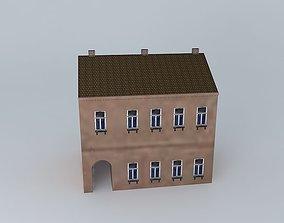 19th Century House 3D asset