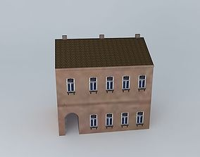 19th Century House 3D asset