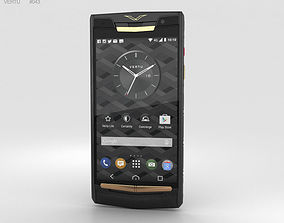 3D model Vertu Signature Touch 2015 Pure Jet Red