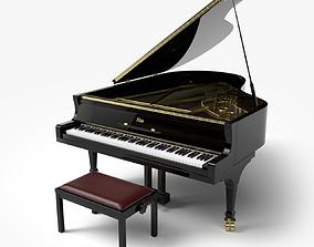 orchestra 3D model Grand Piano