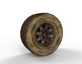 3D model Old Wheel v01