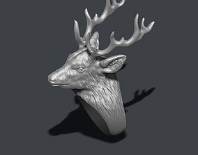 Deer ring buck 3D print model