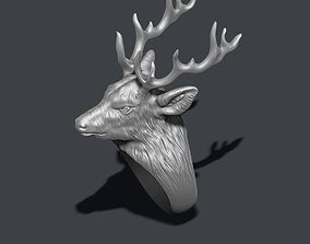 3D printable model Deer ring