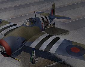 aircraft 3D Grumman Hellcat Mk-1 - RN