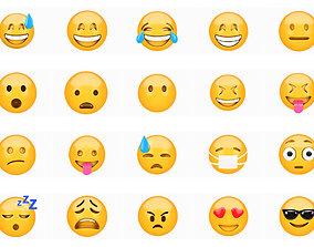 3D model Emoji pack 20