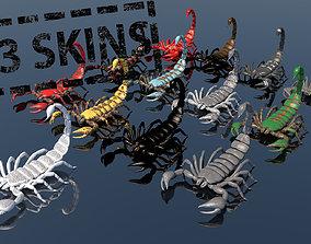 3D Scorpions Pack 13 skins