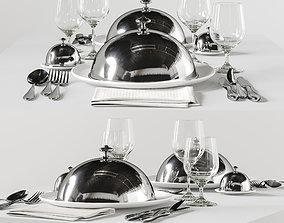 table setting 5 3D model