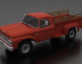 3D model F-Series F-350 Flareside Pickup 1966