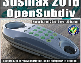 044 3ds max 2016 Modeling OpenSubdiv CreaseSet vol44 CD