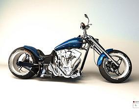 3D MotorBike Chopper