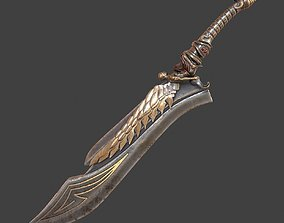 PBR Fantasy sword 13 3d model