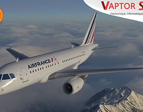 3D model Airbus A318 AirFrance Livery