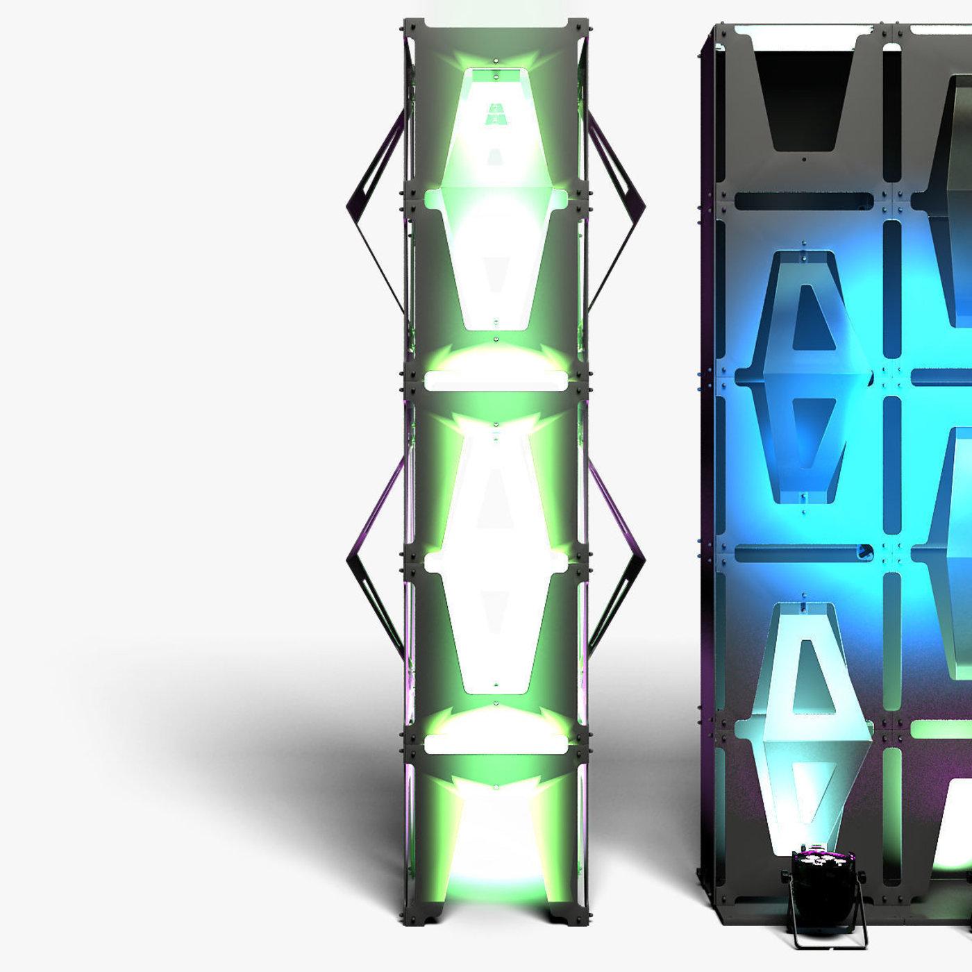 Stage Decor 33 Modular Wall Column