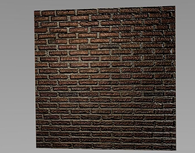 wall with high graphics 3D