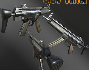 3D model MP5 - PBR Game-Ready