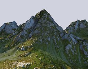 mountain hills ice mountain 3D