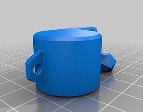 3D-printed whistle external pea