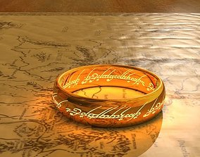 3D printable model One Ring- Lord of the Rings