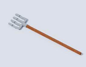 3D model Voxel Pitchfork T2