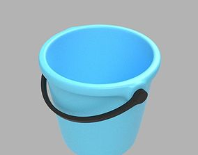 3D model Plastic Bucket handle