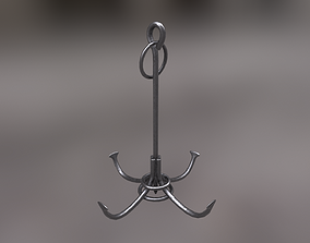 Boarding Anchor 3D model game-ready