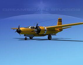 3D Douglas Connair 322 V04