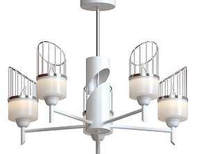 3D model Rod chandelier Inna 3737 - 5C