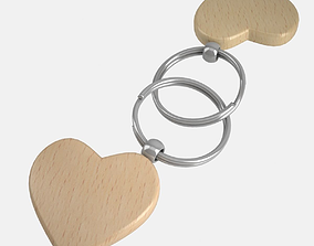 3D Key Chain Heart