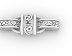 Chain Link 002 3D print model