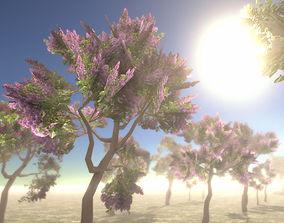 Lilac Trees 3D model