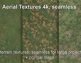 3D model Aerial textures for large terrain