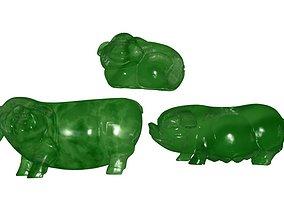 Jade Pig 3D printable model