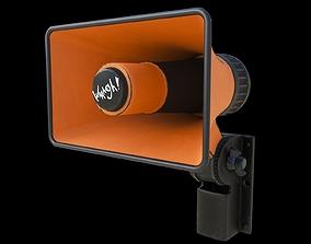 street speaker 3D model