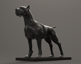 Pitbull Dog 3D printable model