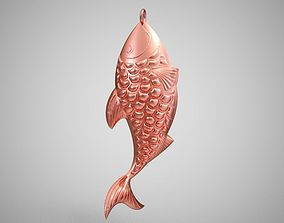 Fish Necklace 3D printable model