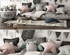 Children Set sleep 3D