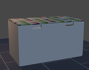 3D model Trunk with drawer