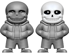 3D print model Sans from Undertale
