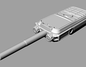 3D model Digital Covert Radio