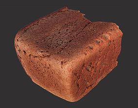 3D asset Soviet Brick Bread Cut