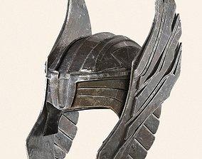 3D model Thor helmet