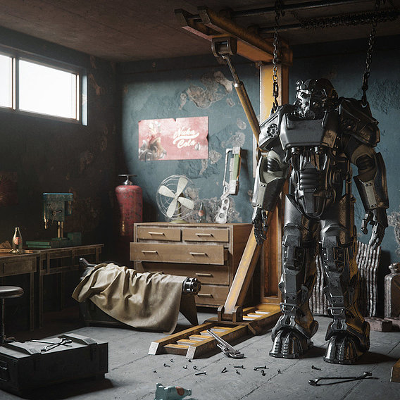 Fallout Fun Art
