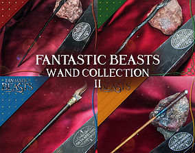 3D print model FANTASTIC BEASTS WAND COLLECTION 2