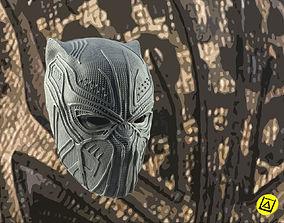 3D printable model Killmonger Golden Jaguar full mask
