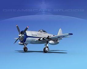 Republic P-47D Thunderbolt V15 3D